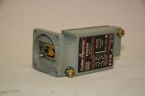 Cutler Hammer E50SN Limit Switch Contact Body 600V Nema B600 Pilot Duty New, US $75.00 � Picture 3