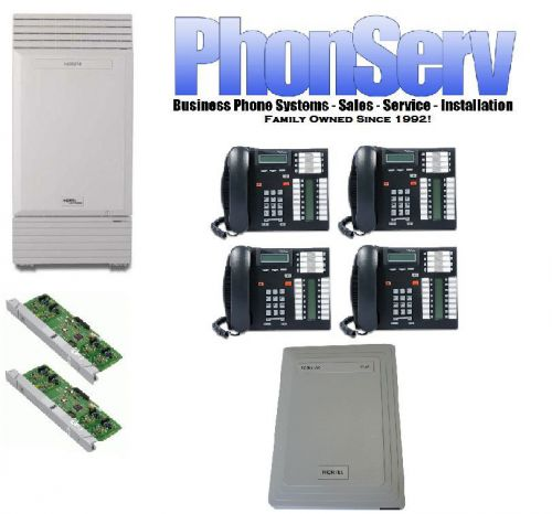 Nortel MICS 4 to 8 Lines 8 Business Digital Phone System