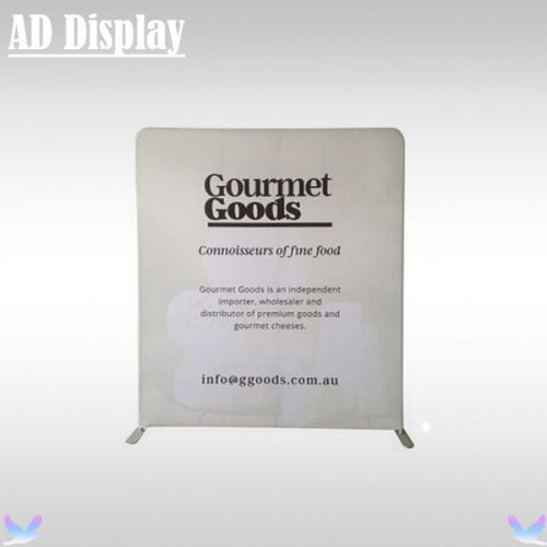 200*228cm premium exhibition fabric display wall with single side printed banner
