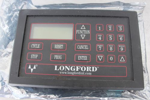 Longford international m1000-7 feeder operator interface digital display