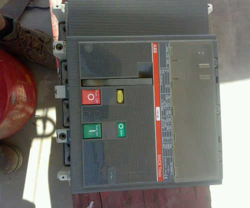 ABB TMAX SACE 1600 T7D 1600 Circuit Breaker  IEC 60947-3 Isolation  T7-T7M-X1, US $400.00 � Picture 1