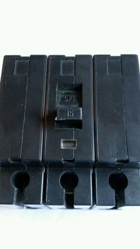 Square d ehb4 snap in  3 pole amp 15 .eh34015