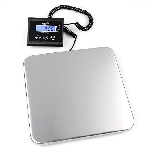 Industrial lcd postal scale weigh 330lb capacity heavy duty package shipping new