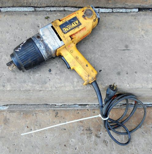 "DEWALT DW297 3/4"" DRIVE 434 FT./LB. TORQUE, PISTOL GRIP 1,600 RPM, IMPACT WRENCH � Picture 1"