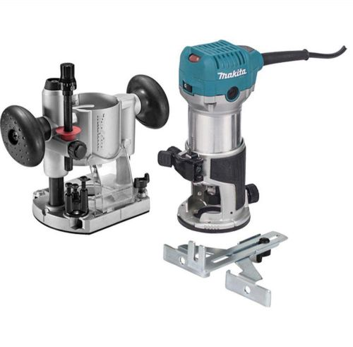 Makita rt0701cx7 1-1/4 hp compact router kit new !!!
