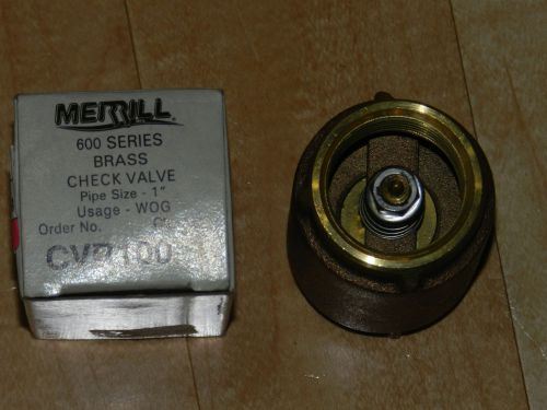 how to check if non return water valve works