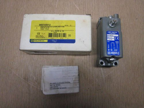 New in box square d 9007 aw-12 precision limit switch free shipping