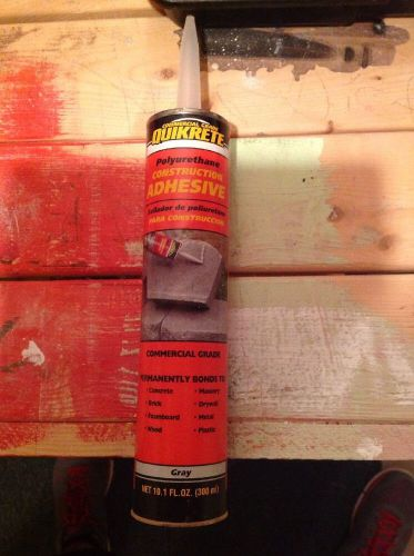 Commercial grade quickrete construction adhesive (gray)