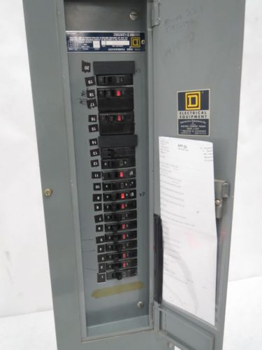 SQUARE D NQ0832-240 CIRCUIT BREAKER PANEL BOARD 100A 120/208-240V-AC B239839, US $50.75 � Picture 2