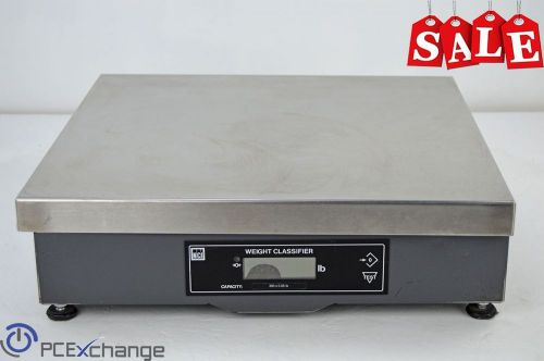 Nci 7880-125 shipping weight scale 250lb capacity