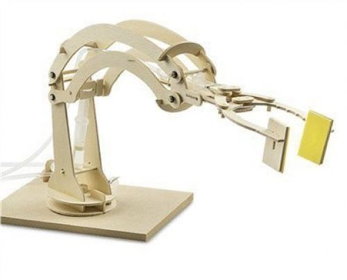 D. i. wise collection hydraulic robotic arm