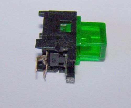24 pcs momentary switches, right angle, with built-in green led