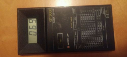 Vtg gold tester gt-3000 tri electronic no wire