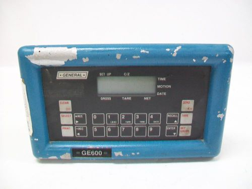 General electronics systems scale readout ge600