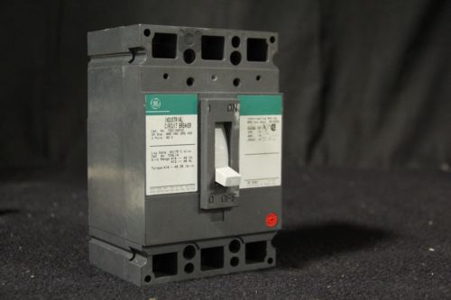 G.E TED134030 3 Phase 3 Pole 480 Volt 30 Amp Circuit Breaker, US $20.00 � Picture 3