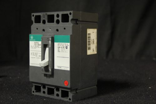 G.E TED134030 3 Phase 3 Pole 480 Volt 30 Amp Circuit Breaker, US $20.00 � Picture 5