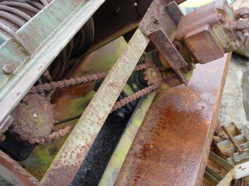 Braden MGU5 20K LBS Hydraulic Recovery Worm Gear Winch
