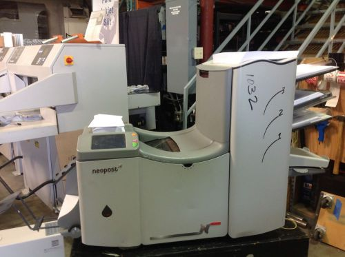 Neopost ds70 folder inserter ds-70 nice but selling as-is