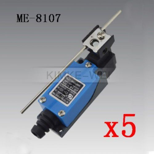 5x Mechanical Control Rotatable Lever Micro Limit Switch ME-8107 New, US $19.90 � Picture 1