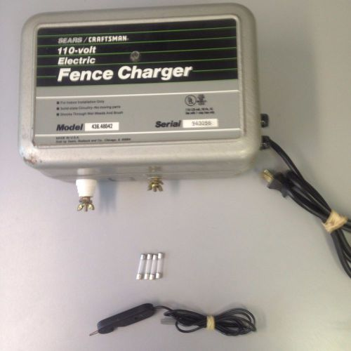 Sears Craftsman Parmak Electric Fence Charger 15 Mi