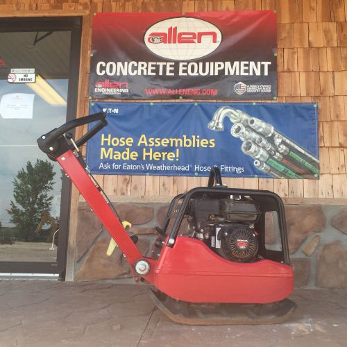 Allen engineering reversible plate compactor