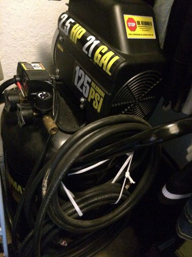 Air compressor 2.5hp 21gallon 125psi tampa fl local pick up