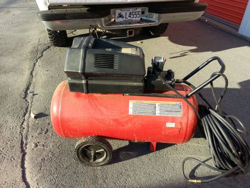 Craftsman 6 hp 33 gal air compressor 2 cylinder 15 scfm @ 40 psi