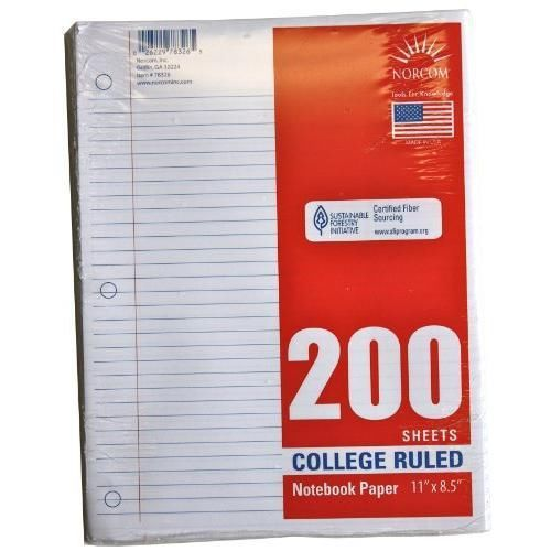 colored filler paper college ruled Copy paper color copy paper laser printer  discounts on wholesale notebooks, pads & filler paper supplies and office products  college ruled - unruled - 16 lb.