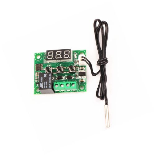 1pcs w1209 digital thermostat temperature controler -50-110�c 12v +sensor bn