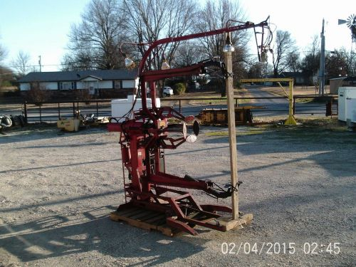 Branick heavy duty tire repair spreader industrial, ag, & large commercial tires