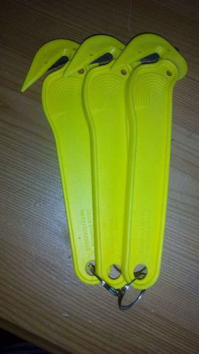 Yellow safety knife,,box opener