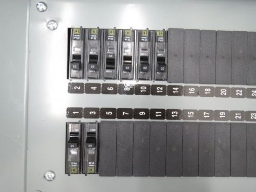 SQUARE D 12289275390160001 CIRCUIT BREAKER PANEL BOARD 100A 208/120V-AC B239907, US $100.75 � Picture 3