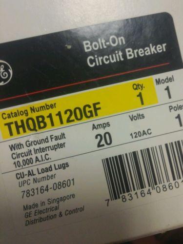 ge THQB1120GF new bolt on circuit breaker, US $24.99 – Picture 2