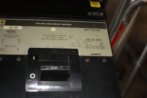 Square D MH36800 (MH 36800) Circuit Breaker � Picture 4