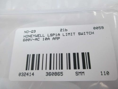 NEW HONEYWELL LSP1A LIMIT SWITCH 600V-AC 10A AMP D360865, US $19.75 � Picture 6