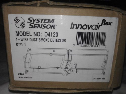 System Sensor D4120 4 Wire Duct Smoke Detector Innovair