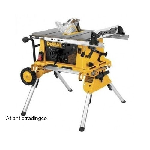 New Table Saw Stand Dewalt Dw7440rs Heavy Duty Rolling Portable Job Site Tool Us 279 00