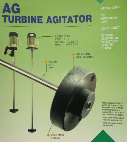 Turbine Agitator (Clamp or Flange Available), US $750.00 � Picture 1