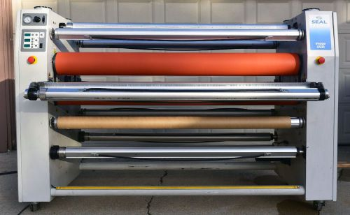 "Seal image 6500 laminator 65"" wide roll hot cold"