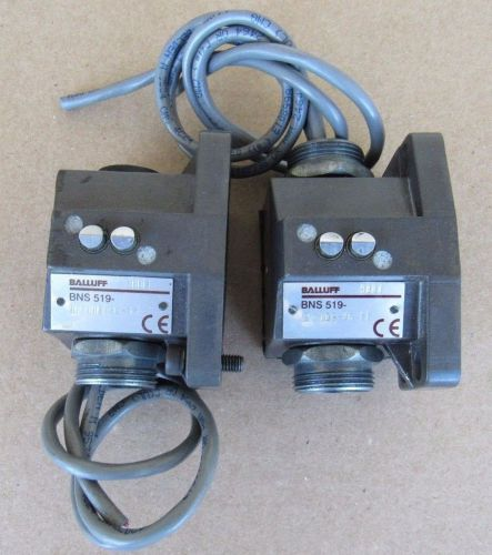 2 pcs balluff mechanical position limit switch bns 519-b2-d08-46-11 9801