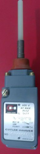 Cutler-hammer type l limit switch 10316h6965c new old stock
