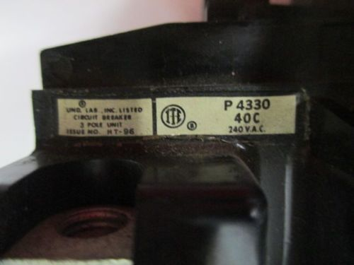 ITE P4330 TRIP UNIT 3POLE 30A AMP 240V-AC CIRCUIT BREAKER D256200, US $25.75 � Picture 7