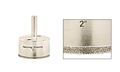 "CRL 2"" AG Series Plated Diamond Drill � Picture 1"