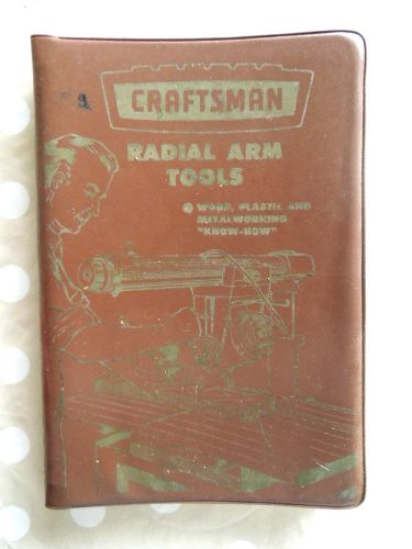 1960 Craftsman Radial Arm Saw Tools Manual  Sears Roebuck Know-How Cat No 9-2955 � Picture 1