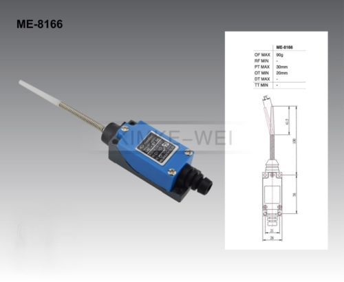 5x Wobble Stick Type Safety Micro Limit Switch ME8166 AC 250V New, US $19.90 – Picture 2
