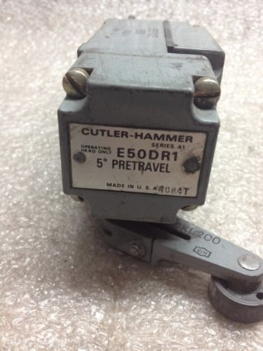 (D2) CUTLER-HAMMER E50SA LIMIT SWITCH � Picture 6
