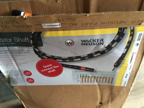 WACKER NEUSON SM4-E 13' Concrete Vibrator Flexshaft Flexible Shaft – Picture 1