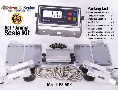 New 700lb animal scale | vet scale | pet scale kit 4 build / repair animal scale