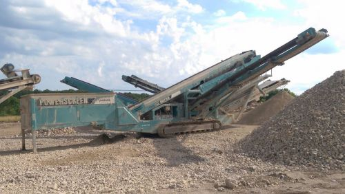 2006 powerscreen chieftain 2100 - screening plant