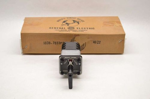 General electric ge 16sbm 10aa108 control rotary 3 stage 1a amp switch b479115